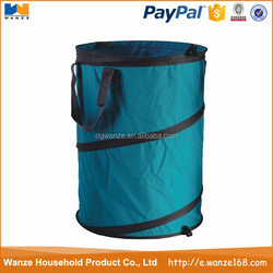 Wholesale collapsible laundry basket,polyester foldable laundry bag,pop up laundry hamper