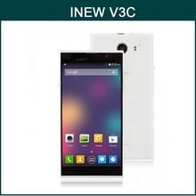 Original 5 Inch INEW V3C MTK6582 Quad Core 1GB/4GB Android 4.2 3G WCDMA Smartphone 1280*720 GPS Wifi Dual SIM 5.0MP+8.0MP Camera