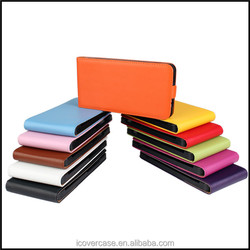 Manufacturer Wholesale Colorful Genuine Leather mobile phone flip case For HTC One Max T6