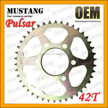 Sprocket and Chain for Bajaj Pulsar Motorcycle