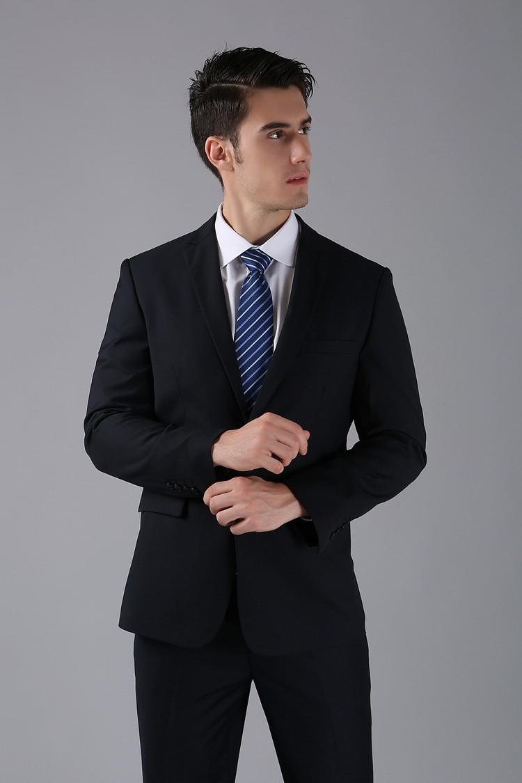 HTB1PIRoFVXXXXaVXXXXq6xXFXXXD - (Jackets+Pants) 2016 New Men Suits Slim Custom Fit Tuxedo Brand Fashion Bridegroon Business Dress Wedding Suits Blazer H0285