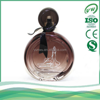 best selling elegant perfume glass bottle for women