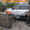 2015 new CE 30 bar diesel mobile vapor steam car wash equipment/vapor second hand dry cleaning machines