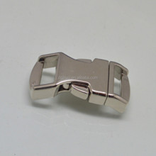 "1/2"" metal buckle with curved effect,metal belt buckle for car seat belt"
