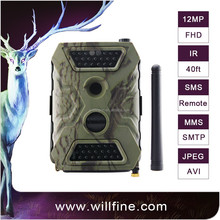 12 MP 1080P PIR no glow 940nm ir invisible wildlife trail camera support MMS/SMTP/FTP for security surveillance