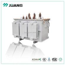 High voltage/frequency 11KV 22kv 33KV 25kva three phase amorphous oil immersed power distribution transformer