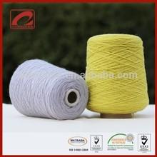 Hilo de lana utilizado comúnmente para tejido a mano,hilo de lana para manta o alfombra del hogar