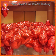 Wholesale Red Heart Shape Foil Helium Balloon size 5',10',18'',24',30',36 inch Party Decoration Love Balloons