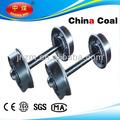 500 mm gauge minería mina de coches de la rueda