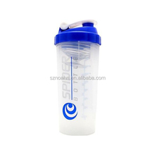 Trade Assurance High Quality Plastic Spider Nutrition Shaker Bottle With SS Ball (Noahn-1015)