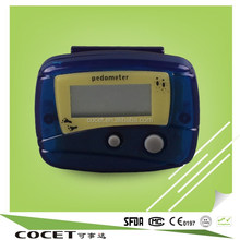 professional manufacturer best sell nice manual pedometers calorie km counter
