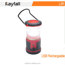 Plastic Lamp Body Material and LED Light Source Camping Lantern