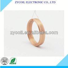 Copper pancake air coil
