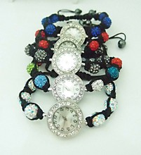 Free Shipping Jewelry Ball Beads Cute Crystal watch for lady