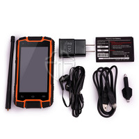 New android dual core 3g waterproof military mobile phone, outdoor dual sim cell phone