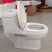 Bathroom One Piece Commode with white & ivory color