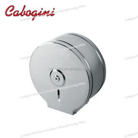 304ss metal wall mounted decorative bathroom jumbo paper roll dispensers