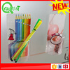 Transparent silicon adhesive stationery holder Pencil Case