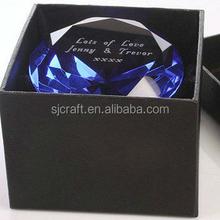 Customized Wedding Favor Blue Crystal Diamonds Gifts SJ-ZS673