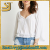 New design top pretty lady clothing,fashion casual blouses