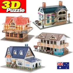 Australian scenery DIY toys 3D paper educational puzzle