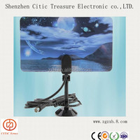 High Gain Indoor TV Antenna receivers /Digital HDTV DTV Box HD VHF UHF TV Antena