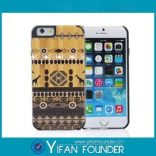"""Color printing wood hard case for iphone 6 4.7"""",PC wood hard case for iphone 6"""