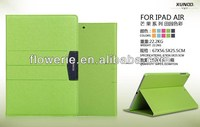 FL239 hot selling mango series leather case with stand for ipad air