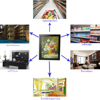 WIFI Picture frame camera for android and iphone H264 AV video format YZ062