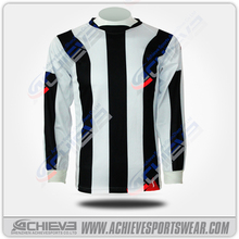 New model 100 polyester Club soccer jersey