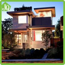 Modern Elevation Exterior Small Villa Design with Furniture