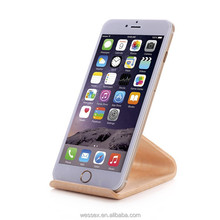 New arrival Wooden cell phone stand/phone desk holder