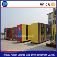 Modified container house price /container coffee shop/ shipping container homes for sale in usa