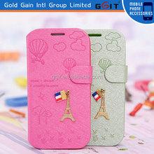 For Samsung S4 Case, Leather Flip Case for Samsung S4 i9500