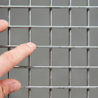 304 stainless steel welded wire mesh/stainless steel welded mesh wire