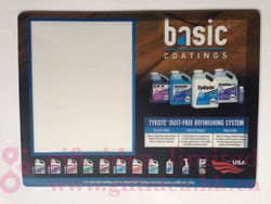 desk top display mat for counter Graphics and Advertising Posters, reuseable for all promotion