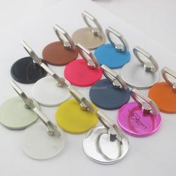 high quality metal luxury mobile phone round shape ring holder finger ring holder