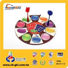 Kids safety toy in door game EVA custom magnetic dart board