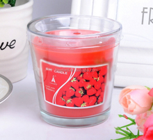 Wholesale decorative candles with scent as birthday gift