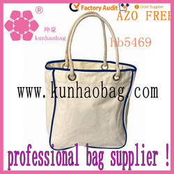 white personalized tote bag