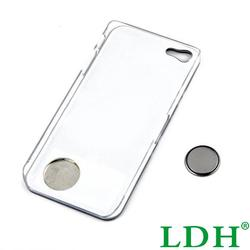 Flower Stylish LED Case Cover Calling Sense Flash Changing Light Back shell Skin For iPhone 4 4S 5 5S Wholesale 6WYD
