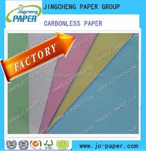 carbonless copy paper CB CFB CF Blue image /black image