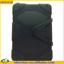 Hybrid Shockproof defender Protection Case For iPad Mini with Kick Stand