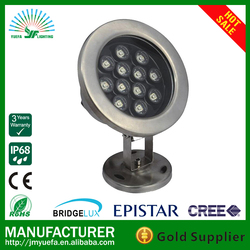 outdoor underwater light IP68 garden led fountain pond lights 9w 12w 18w led swimming pool light