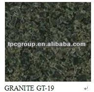 polished dark green onyx floor tiles