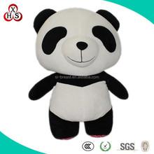 2015 Hot Sale Cute Stuffed Funny Customed Singing plush big eyes panda