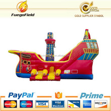 Design classical pirate slide pirate ship slide