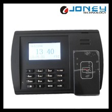 3 Inch Black White LCD screen RS232/485 TCP/IP RFID card reader Time Attendance, punch card attendance machine