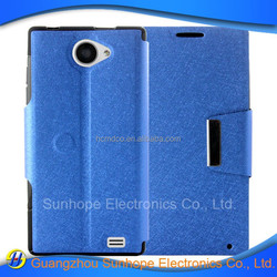 tpu pu leather case with card slot for WOXTER ZIELO Z-420 HD