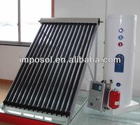 2014 Hot sale vacuum tube solar collector sun power system